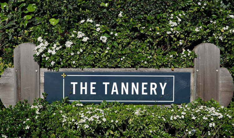 Signage At The Tannery - Bracken Workspace Plus