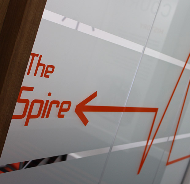 The Spire Meeting Room - Bracken Ltd
