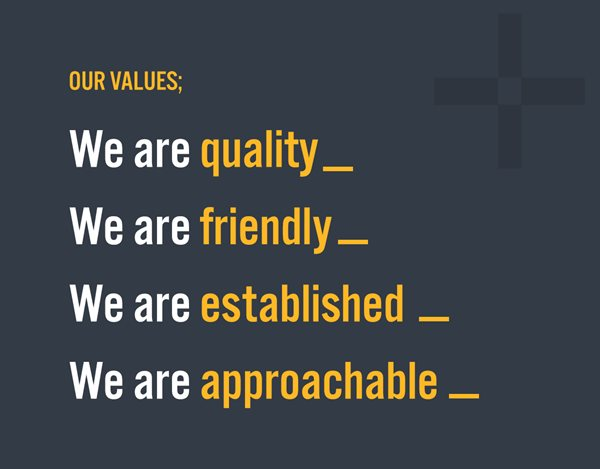 Bracken Brand Values