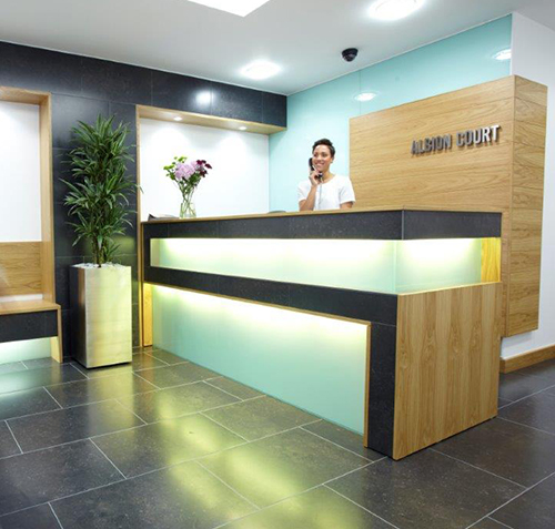 Albion Court Reception - Bracken Ltd